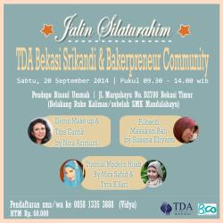 Jalin Silaturahim TDA Srikandi Bekasi dan Bakerpreneur Community