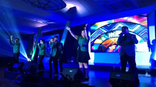 Aksi Project pop di ulang tahun Tokopedia