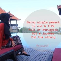 Ketika Menjadi Single Parent