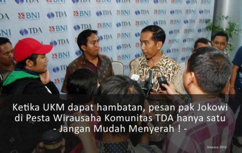 Dukung Bebiluck dan UKM Indonesia
