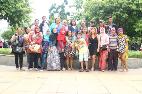 Bersama komunitas Single Moms Indonesia