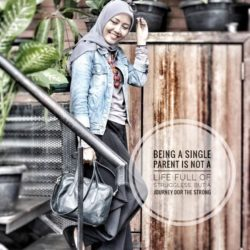 Melihat Sisi Bahagia Single Moms