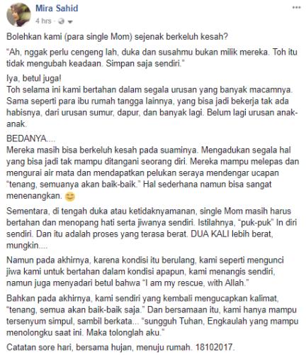 Single Mom, Tenang, Semua Akan Baik-Baik Saja!