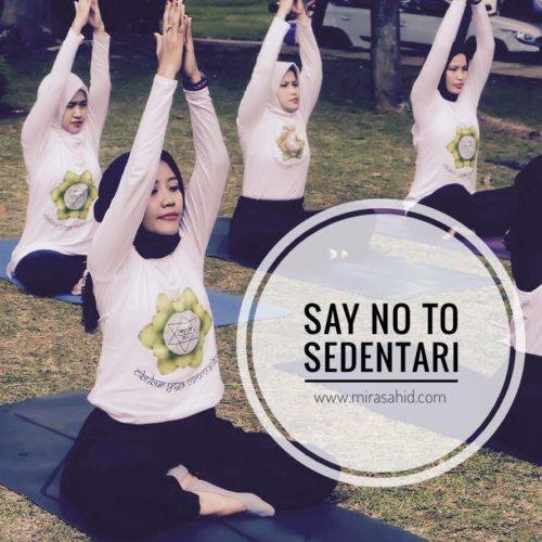 Say No To Sedentari!