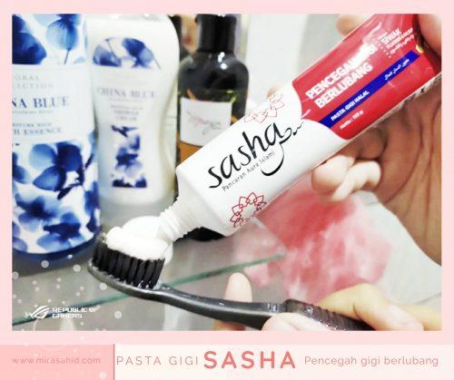 Hijrah Berawal dari Mulut Bersihkan Dengan Pasta Gigi Sasha