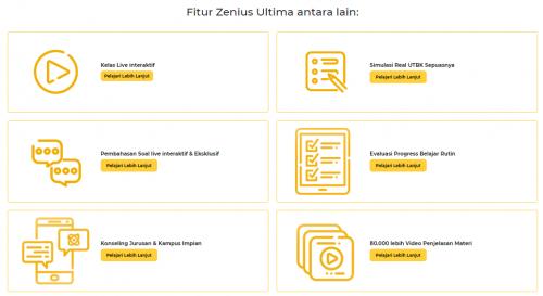 Siap UTBK bersama Zenius Ultima